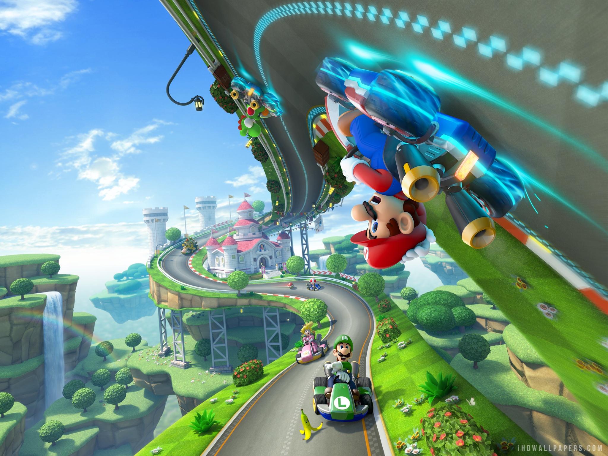 Nuevo trailer para «Mario Kart 8»