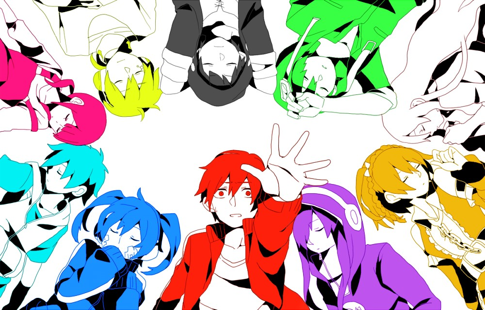 "Más sobre ""Mekaku City Actors"", el anime de Vocaloid"