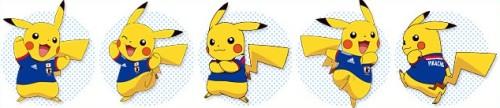 pikachu selección japón Brasil 2014 akai