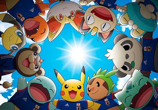 Pikachu será el capitán de la selección Japonesa en el mundial de Brasil 2014