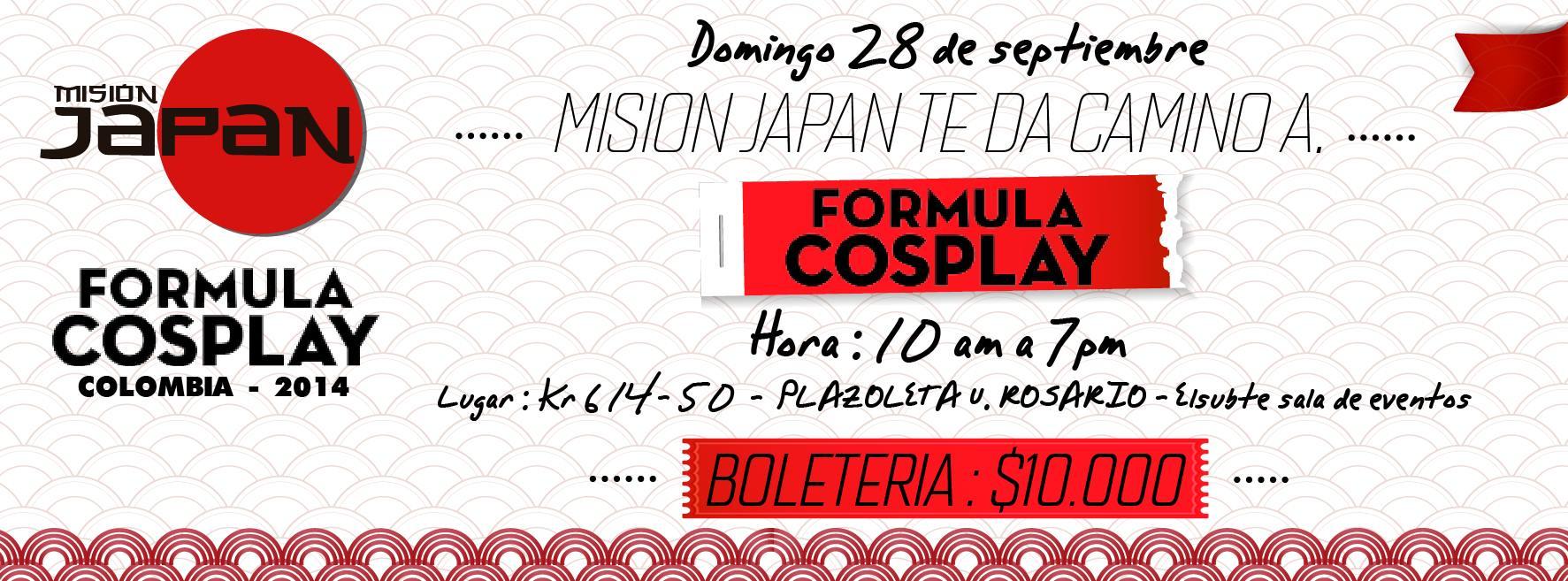 MISION JAPAN – 28 de Septiembre (Bogota  – Colombia)