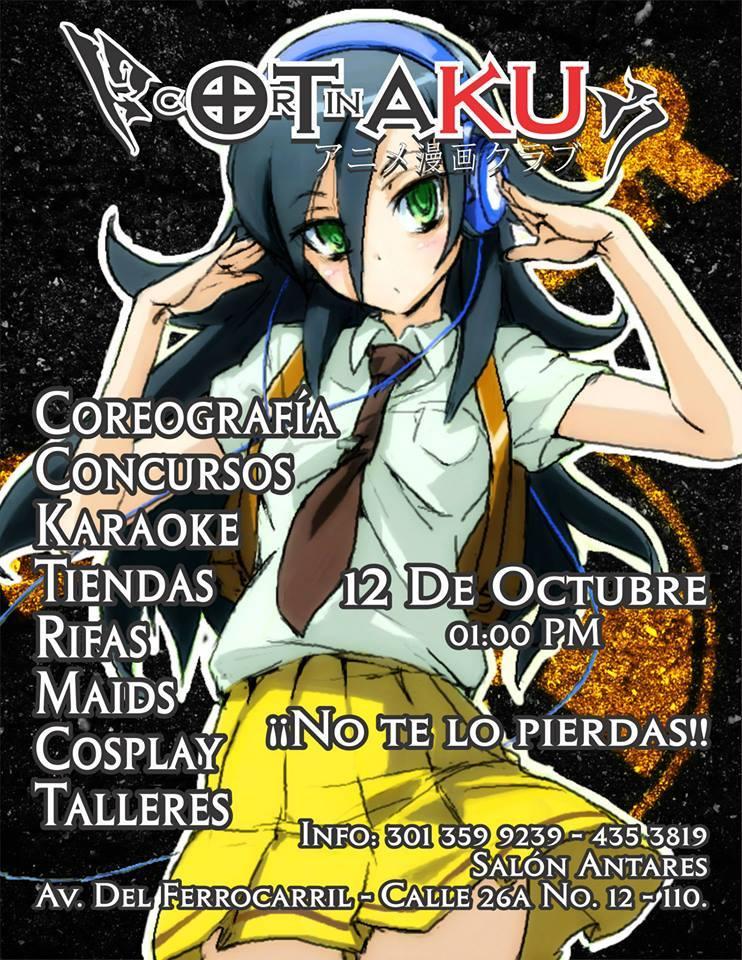 CORTINA OTAKU IV 12 de Octubre  (Santa Marta – Colombia)